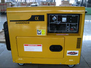 Patent Design Automatic Voltage Adjustor Diesel Fuel Generator with Fuel Meter / Oil Alert