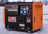 4 Stroke Electric Start 5kw Diesel Power Generators With AVR , Low Oil Alarm System Air Cooled