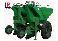 3 Point Hitch Tractor Potato Planter With Double Share Furrow , 2 Ridge 2 Rows