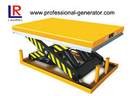 Heavy Duty Stationary Scissors Lift Platform Good Performance Materials Handling Equipment