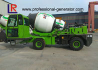2.6 Cubic Meters 30° HJ80-43 Mobile Concrete Mixer Truck