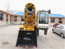 6830 × 2710 × 3150 Mm 116Hp Self Propelled Concrete Mixer