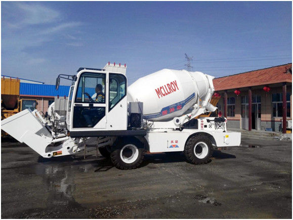 YCD4J22G Heavy Construction 4.0 Cbm Concrete Mixer Machine