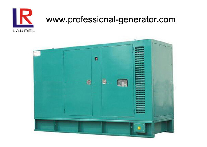 140kw Electric Soundproof Cummins Diesel Generator , 220 / 380v AC Three Phase
