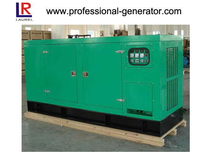 400V 50kw Silent Diesel Generator Cummins Engine AC Three Phase Color Optional