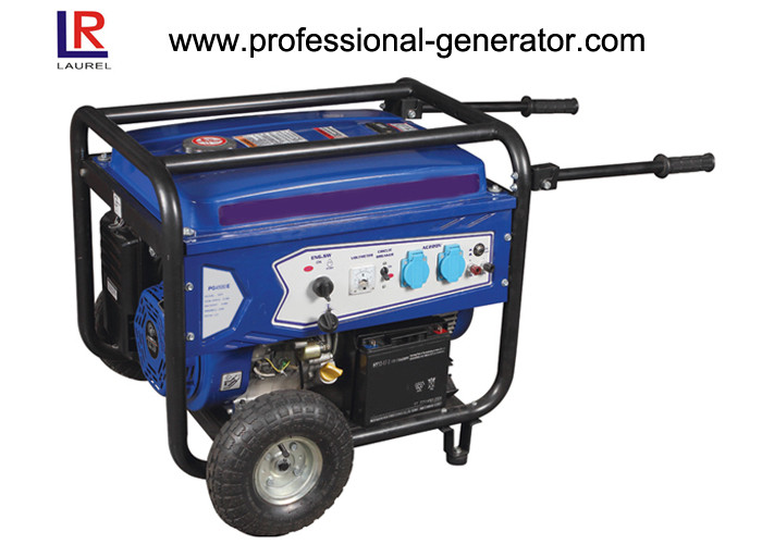 Single Cylinder Brush 4.0 Kw Portable Industrial Diesel Generator Single - phase