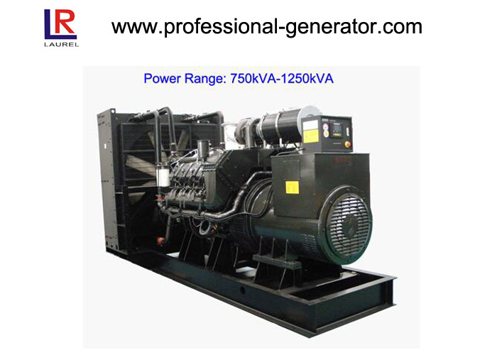 Low Noise 50Hz/60Hz Diesel Powered Generator 900kVA/720kw Water Cooling