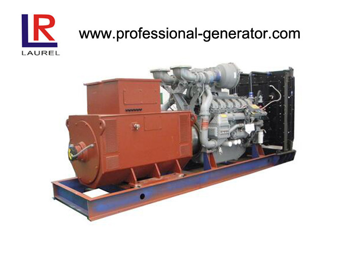 Multi - Function Soundproof 1000kw Diesel Powered Generator Set with 11kv High Voltage