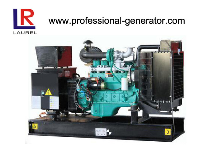Water Cooling 200kVA 160kw Electric Open Diesel Generator Set with Cummins Engine