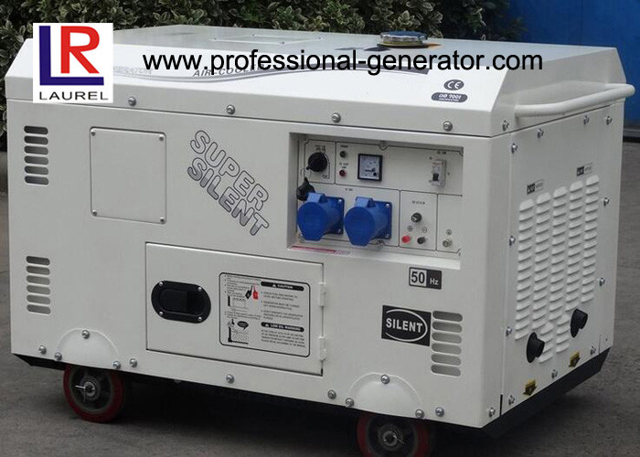 AC 3 Phase Portable Diesel Driven Generator 8.5kw 10kVA with Strong Diesel Engine