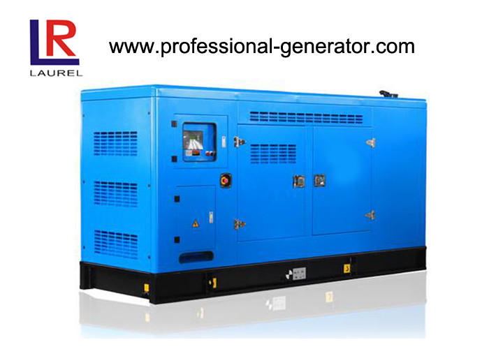 Low Noise Super Silent 100kVA 80kw Diesel Generator Cummins With Leroy - Somer Alternator