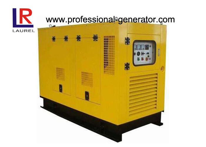 Auto Start 18kw to 112kw Canopy Diesel Generator with 12 / 24V DC Electric Starting