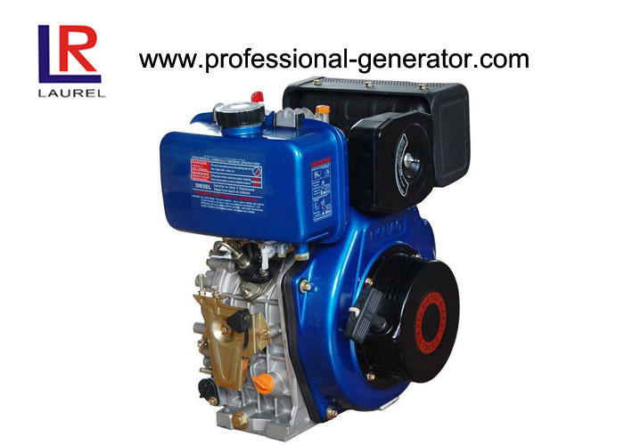 Vertical Air Cooled 8HP Diesel Power Engine with Single - cylinder , Recoil Start