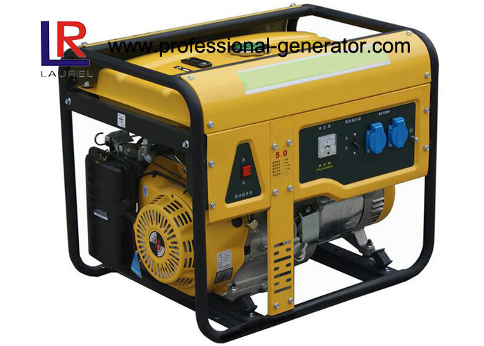 AC Single Phase 5kw 13HP Portable Petrol Generator with Air Cooled CE