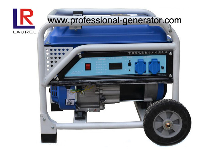 Water Cooled 7kw Small Gasoline Generators with Single Cylinder 4 Stroke Engine