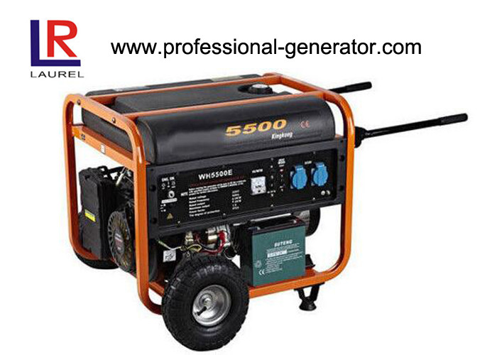 Soundproof Portable Output Type Gasoline Generators 4-Stroke Air Cooling