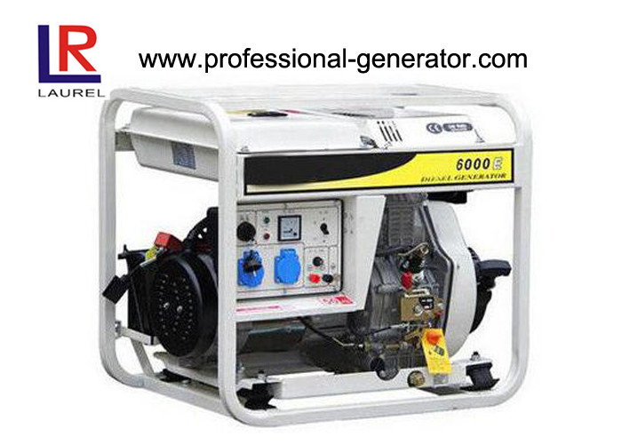 Euro Power 4.5 / 5.0kw Diesel Engine Generator With Centrifugal Weight System