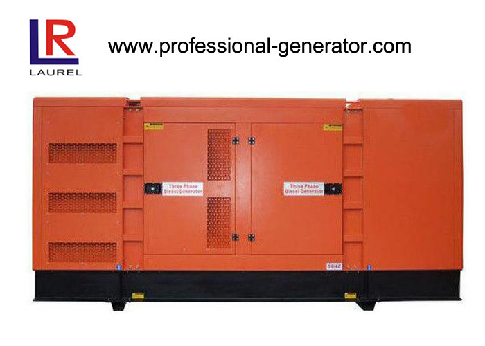Professional Container Genset Diesel Driven Soundproof Generator for Industry / Commercial
