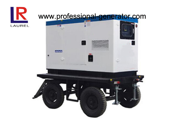30kw Soundproof Trailer Welding Mobile Power Generator with Direct Injection Engine