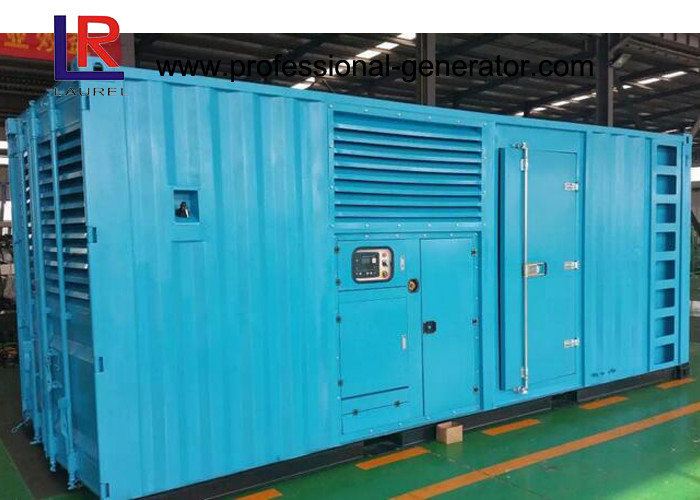 AC Three Phase Output Type Natural Gas Generators Wet Cylinder Liner Closed Cooling