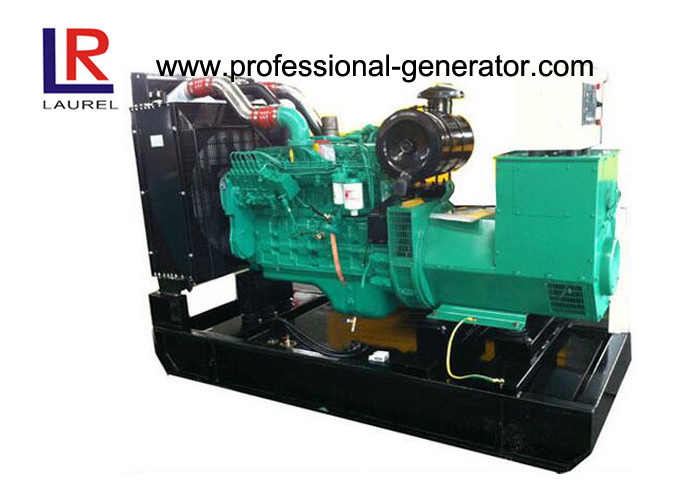 Brushless 500kVA Natural Gas Power Generation Industrial Generator Cummins Engine