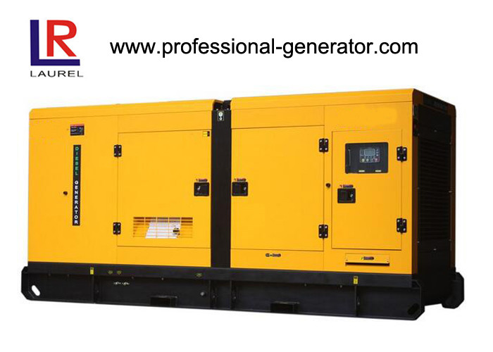 50Hz 1500rpm AC 3 Phase 180kw Silent Diesel Generator Set with Cummins Engine