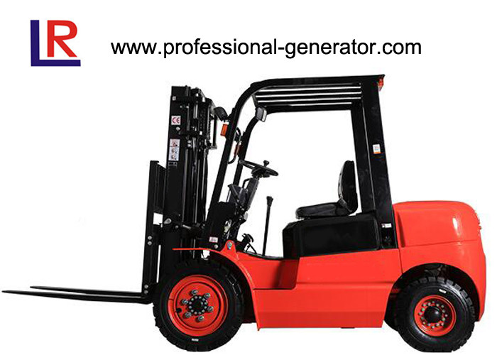 High Performance Warehouse Material Handling Equipment 3 - 3.5T Capacity Diesel Forklift