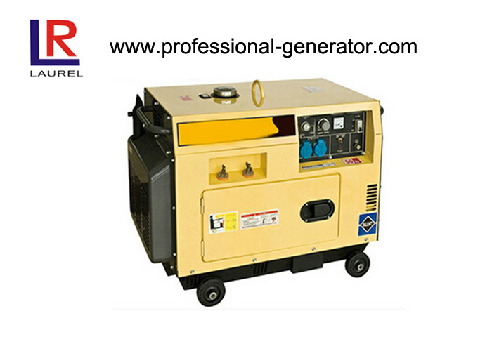 1.8kVA / 2kVA Small silent Diesel Welder Generator with Single Cylinder